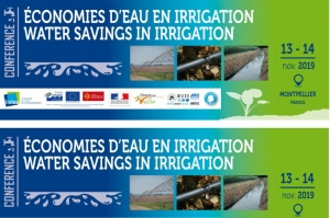"Conference ""Water savings in irrigation"" - 13th and 14th of november 2019"